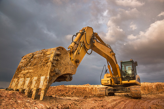 Heavy construction equipment symbolizes our depth of knowledge of contractor business and financial issues