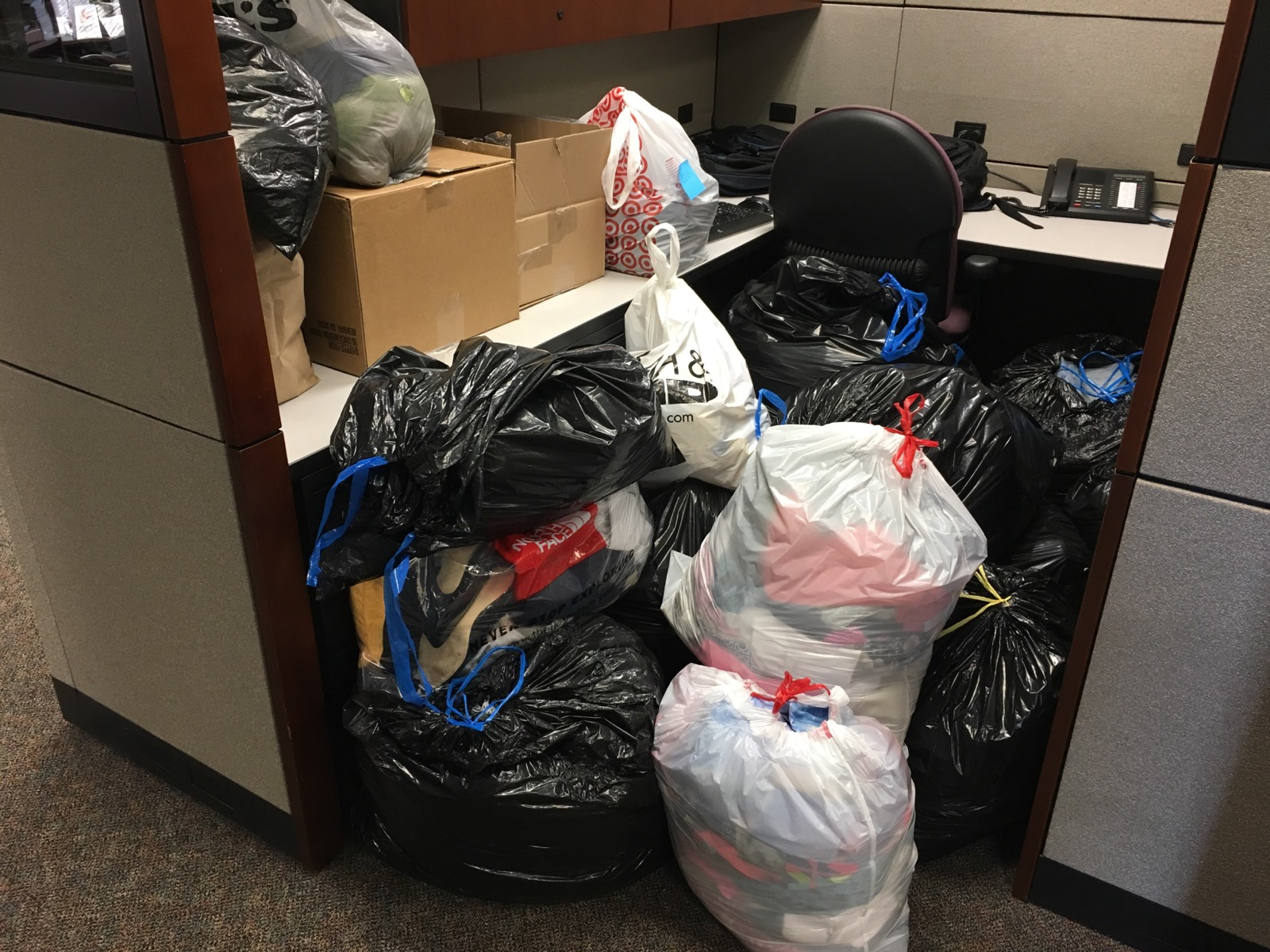 Our Year-End Clothing Drive – Another Success!